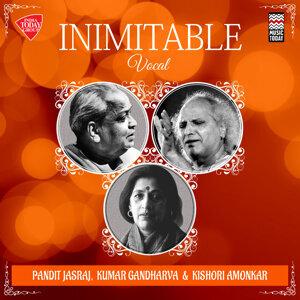 Pandit Jasraj, Kumar Gandharva, Kishori Amonkar 歌手頭像