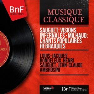 Louis-Jacques Rondeleux, Henri Sauguet, Jean-Claude Ambrosini 歌手頭像