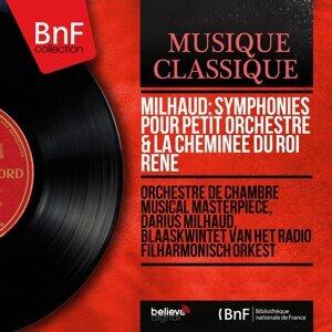 Orchestre de chambre Musical Masterpiece, Darius Milhaud, Blaaskwintet van het Radio Filharmonisch Orkest 歌手頭像