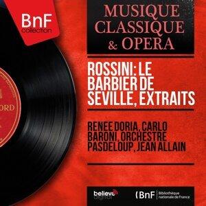 Renée Doria, Carlo Baroni, Orchestre Pasdeloup, Jean Allain 歌手頭像