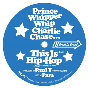 Prince Whipper Whip, Charlie Chase 歌手頭像