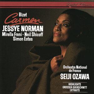 Jessye Norman, Mirella Freni, Neil Shicoff, R.T.F. Choeur De Radio France, R.T.F. National Orchestre, Seiji Ozawa 歌手頭像