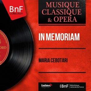 Maria Cebotari 歌手頭像