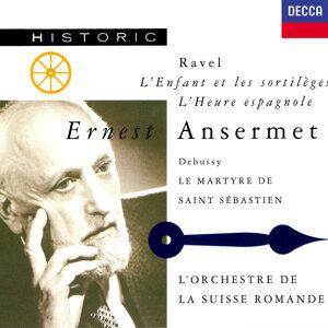 Ernest Ansermet, L'Orchestre de la Suisse Romande 歌手頭像