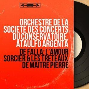 Orchestre de la Société des concerts du Conservatoire, Ataúlfo Argenta 歌手頭像