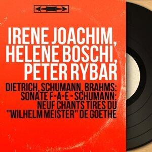 Irène Joachim, Hélène Boschi, Peter Rybar 歌手頭像