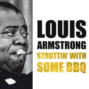 Louis Armstrong, Louis Jordan, Ella Fitzgerald 歌手頭像