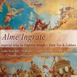 Lydia Teuscher, Henning Wiegräbe, Capricornus Ensemble Stuttgart 歌手頭像