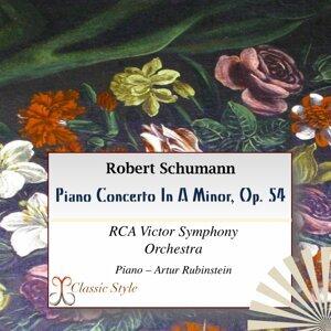 RCA Victor Symphony Orchestra, Josef Krips, Artur Rubinstein 歌手頭像