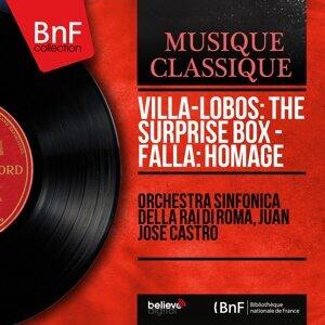 Orchestra sinfonica della RAI di Roma, Juan José Castro 歌手頭像