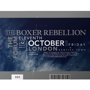 The Boxer Rebellion 歌手頭像