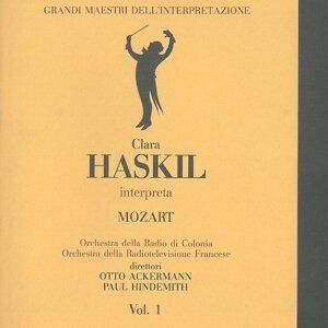 Orchestra della Radio di Colonia, Clara Haskil, Otto Ackermann, Paul Hindemith, Orchestra della Radiotelevisione Francese 歌手頭像