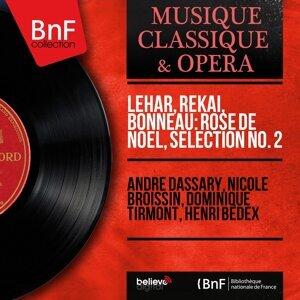 André Dassary, Nicole Broissin, Dominique Tirmont, Henri Bedex 歌手頭像