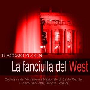 Orchestra dell'Accademia Nazionale di Santa Cecilia, Franco Capuana, Renata Tebaldi 歌手頭像