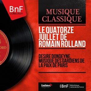 Désiré Dondeyne, Musique des gardiens de la paix de Paris 歌手頭像