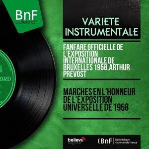 Fanfare officielle de l'Exposition internationale de Bruxelles 1958, Arthur Prévost 歌手頭像
