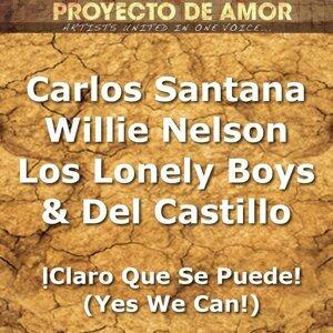 Artists United In One Voice feat. Carlos Santana, Willie Nelson, Lonely Boys & Del Castillo 歌手頭像