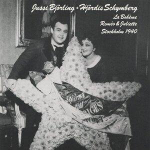 Jussi Björling & Hjördis Schymberg 歌手頭像