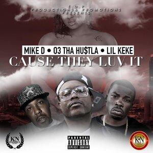 03tha Hu$Tla, Mike D, Lil KeKe 歌手頭像