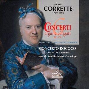 Jean-Patrice Brosse, Nicolas Mazzoleni, Le Concerto Rococo 歌手頭像