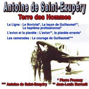 Pierre Fresnay, Jean-Louis Barrault, Antoine de Saint-Exupéry 歌手頭像