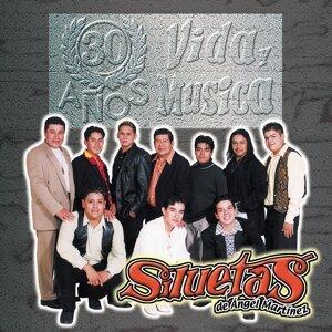 Siluetas de Ángel Martínez 歌手頭像