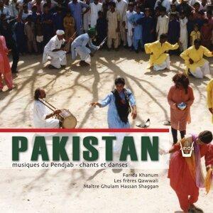 Farida Khanum, Les frères Javed Salamat Qawwali, Master Ghulam Hassan Shaggan 歌手頭像
