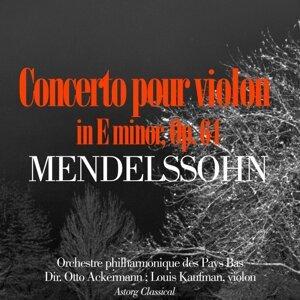 Orchestre Philharmonique des Pays Bas, Otto Ackermann, Louis Kaufman 歌手頭像
