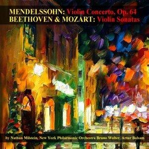 New York Philharmonic Orchestra, Nathan Milstein, Artur Balsam, Bruno Walter 歌手頭像