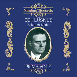 Heinrich Schlusnus, Franz Rupp, Sebastian Peschko 歌手頭像