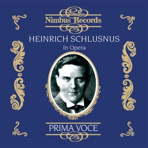 Heinrich Schlusnus, Frida Leider 歌手頭像
