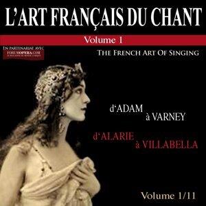 Henri Legay, Fanely Revoil, Emile Marcelin 歌手頭像