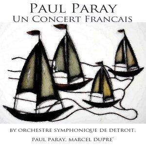 Orchestre Symphonique de Detroit, Paul Paray, Marcel Dupré 歌手頭像