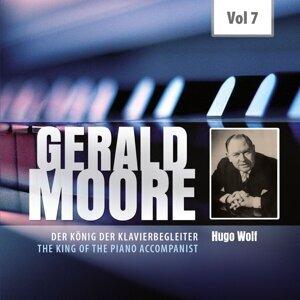 Gerald Moore, Dietrich Fischer-Dieskau, Christa Ludwig, Hans Hotter 歌手頭像