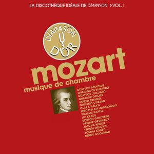 Amadeus Quartet, Juilliard String Quartet, Lili Kraus, Joseph Szigeti, Mieczyslaw Horszowski, Clara Haskil 歌手頭像