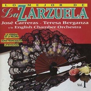 English Chamber Orchestra, Enrique Garcia Asensio, Antoni Ros Marbà, José Carreras 歌手頭像