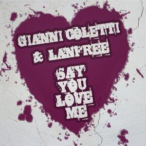 Gianni Coletti, Lanfree 歌手頭像