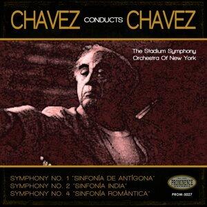 Stadium Symphony Orchestra of New York, Carlos Chávez 歌手頭像
