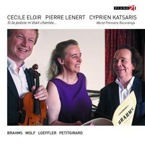 Cécile Eloir, Pierre Lenert, Cyprien Katsaris 歌手頭像