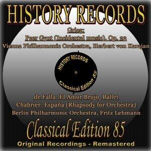 Vienna Philharmonic Orchestra, Diana Eustrati, Herbert von Karajan, Berlin Philharmonic Orchestra, Fritz Lehmann 歌手頭像