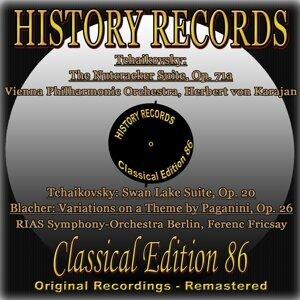 Vienna Philharmonic Orchestra, Herbert von Karajan, RIAS Symphony-Orchestra Berlin, Ferenc Fricsay 歌手頭像