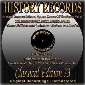 Vienna Philharmonic Orchestra, Saxon State Orchestra Dresden, Herbert von Karajan, Franz Konwitschny 歌手頭像