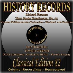 Vienna Philharmonic Orchestra, Herbert von Karajan, Ferenc Fricsay, RIAS Symphony-Orchestra Berlin 歌手頭像