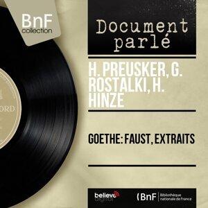 H. Preusker, G. Rostalki, H. Hinze 歌手頭像