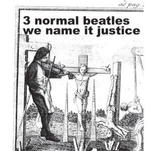 3 normal Beatles