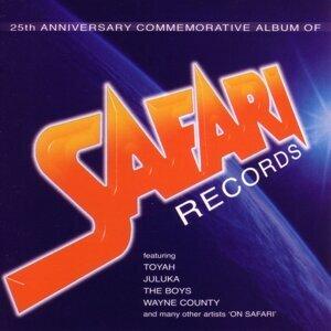 25th Anniversary Commemorative Album of Safari Records 歌手頭像