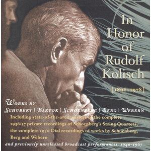 Rudolf Kolisch 歌手頭像