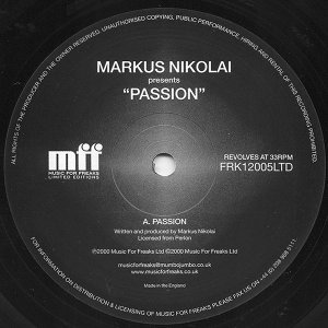 Markus Nikolai 歌手頭像