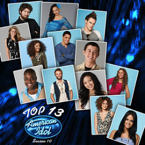 American Idol Top 13 Season 10 歌手頭像
