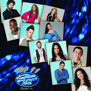 American Idol Top 11 Season 10 歌手頭像